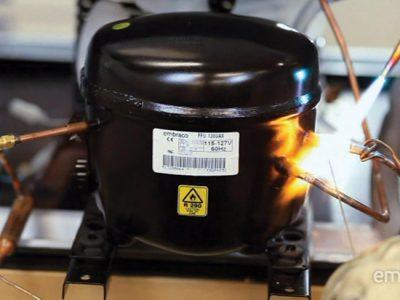 Refrigerante r290 presiones de trabajo