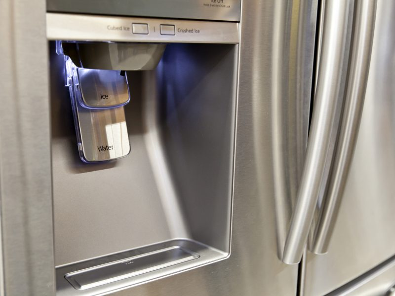 Refrigerator Ice and Water Dispenser
