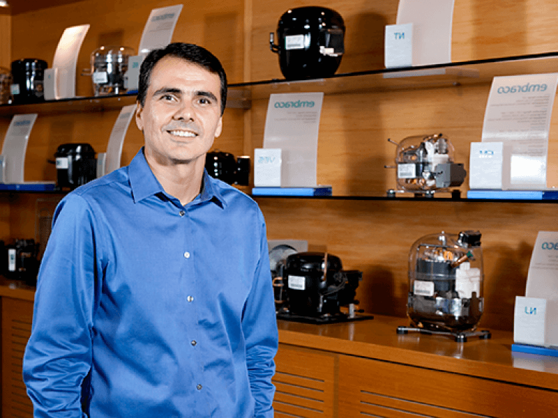 mercado inovação refrigeração presidente embraco