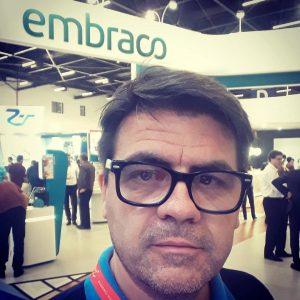 Daniel Demetrius dono do centro técnico de refrigeração