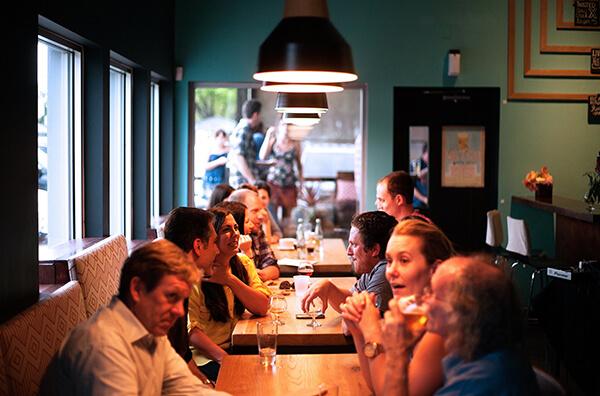 refeições em grandes cidades