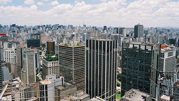 São Paulo - SP vista de cima