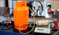 carga gas capa