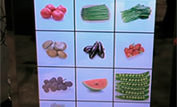 Refrigerador com duas telas de LCD apresentado pela Haier no Consumer Electronics Show 2016